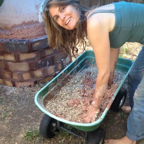 Mixing slip with hemp