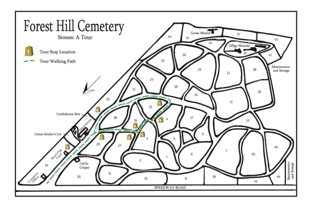 Stones Tour Map