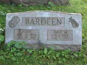 John & Jane Bardeen