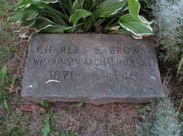 Charles E. Brown, Archaeologist