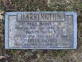 Fred Harvey, Nancy, & Harvey Haynes Harrington