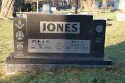Wilbur R. & Ada A. Kemnitz Jones