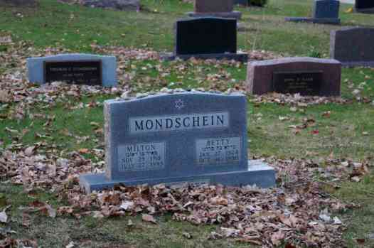 Milton & Betty Mondschein