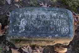 John Myhre Child Grave