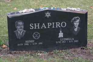 Henry & Ludmilla Shapiro