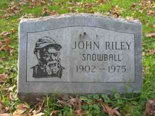 "John ""Snowball"" Riley"