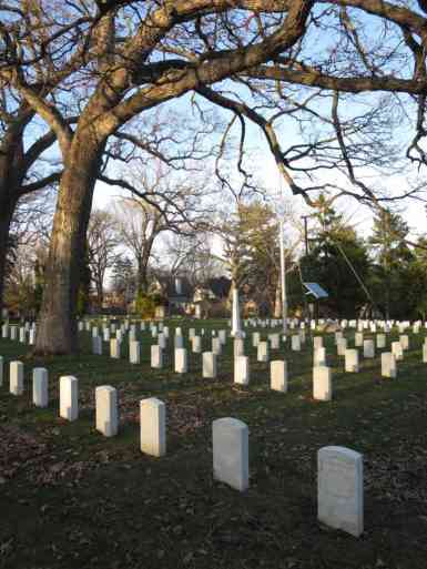 Union Soldiers Military Graves