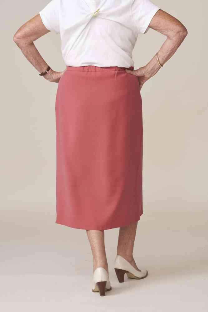 vêtement adaptés et élégants - jupe portefeuille julie fermeture aimants