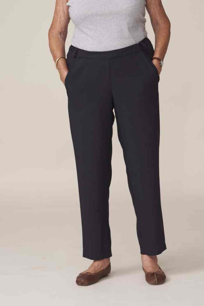 pantalon chic adapté senior large ouverture