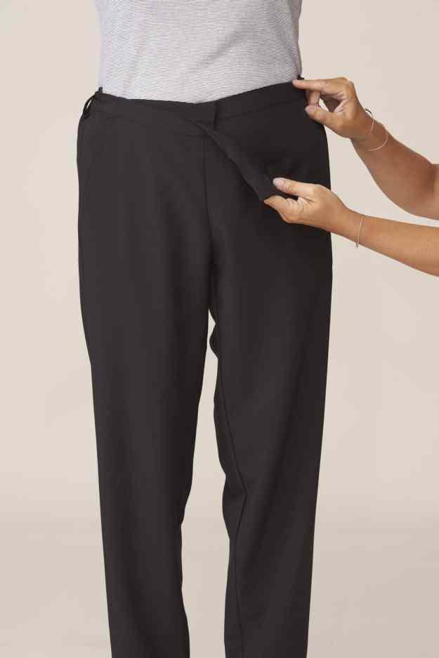 pantalon large ouverture facilitant habillage et change