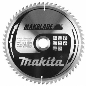 Makita B-08888 - PANZA CIRCULAR MAKBLADE LEMN 255X30X48 - ForeStore