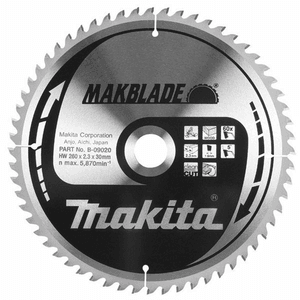 Makita B-09020 - PANZA CIRCULAR MAKBLADE LEMN 260X30X60 - ForeStore