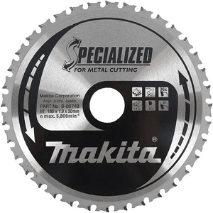 Makita B-09771 - PANZA CIRCULAR METAL/OTEL 185X30X70 - ForeStore