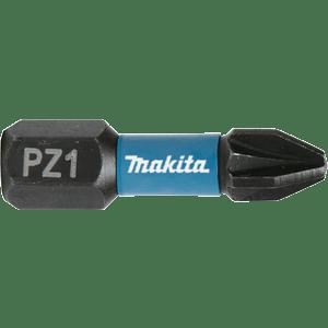 Makita B-63638 - 2 BITI IMPACT BLACK HEX 1/4 PZ 1 25MM - ForeStore