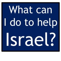 5 easy things anyone can do to help Israel