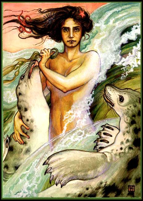 Selkie, by Forest Rogers, www.forestrogers.com/forests_illustrations/