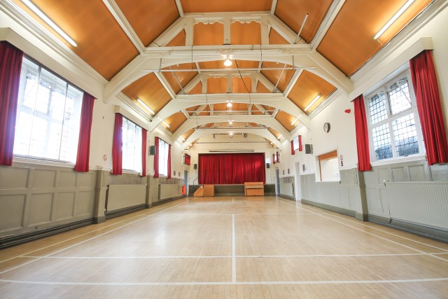 Interior Photo of the Freshfield Hall