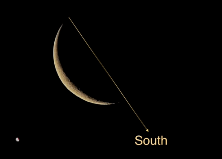Six Simple Ways to Figure Out Which Direction You are Facing in Wild - You can look at the crescent moon when it is at its highest position.  - techurdu.net
