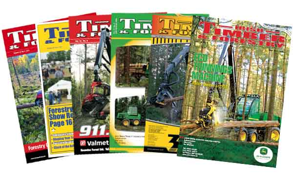 Irish Timber & Forestry Front Covers