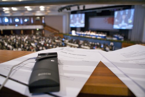 Delegates at the U.N. meeting in Bonn will debate whether a REDD+ governing body tasked with organizing the flow of financial support and establishing the verification processes will help the emissions reduction scheme out of its current impasse. Adopt A Negotiator