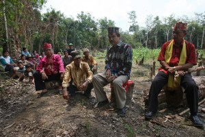 REDD+  has to work for local communities too,  here Kalimantan, Indonesia. Photo: Achmad Ibrahim/CIFOR