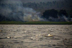 View on the Congo river in DRC. Photo: Ollivier Girard/CIFOR