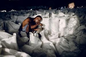 Storage of gum for export. Photo: Ollivier Girard/CIFOR
