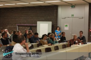 The participants discussed if rural populations in developing countries can continue to use the trees they depend on while conserving them, too. Photo: Tropentag