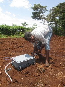 It is important to combine climate change mitigation (here ICRAF's SAMPLES program for smallholders) and adaptation. Photo: ICRAF