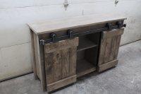 Barn door Console - Forest Trek Woodwork