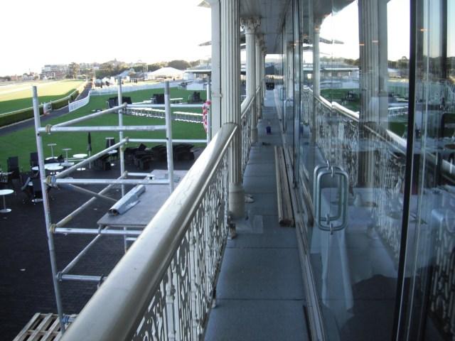 Randwick Race Course Balcony Waterproofing
