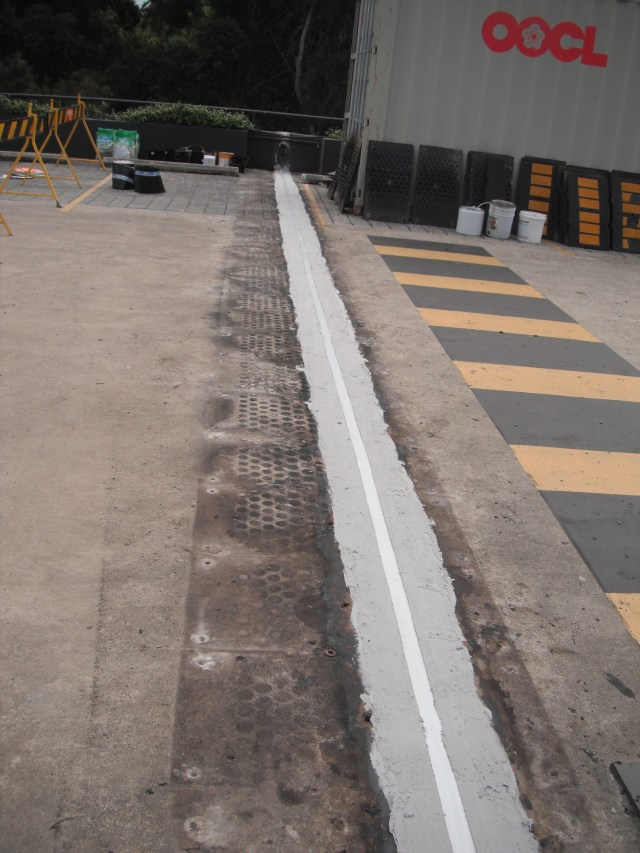 Expansion Joint Repair, Driveway