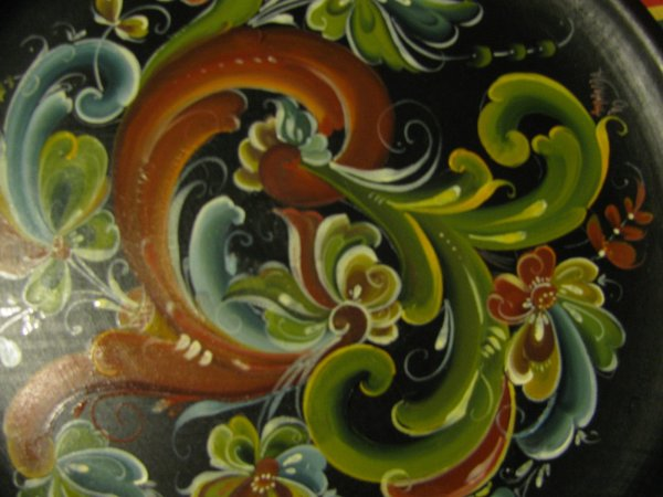 Traditional Norwegian Painting Rosemaling Rules And