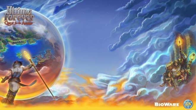 The Ultima Forever Twitter Background
