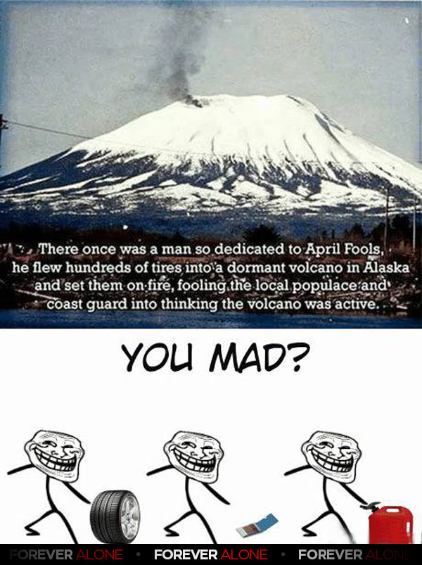 The Volcano Troll  Forever Alone  Forever Alone