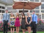 Homecoming. I'm the one in the Yellow. Aren't I the most awkward thing...?