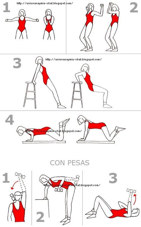 triceps workout routine w 730