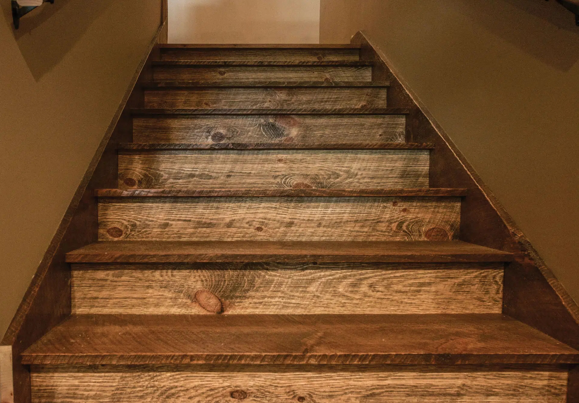 Barnwood Stair Systems In Wisconsin Forever Barnwood | Reclaimed Wood Stairs For Sale | Stair Railing | Wooden | Staircase Makeover | Handrail | Van Gieson