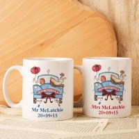 Personalised Scottish Wedding Mug Set | Forever Bespoke
