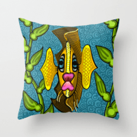 Garibaldi Fish Pillow for Sale