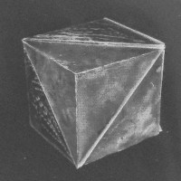 Magnetic platonic solid toy design