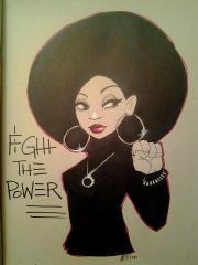 black power effusion