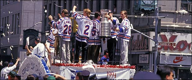 The 1994 Cup Parade (AP)