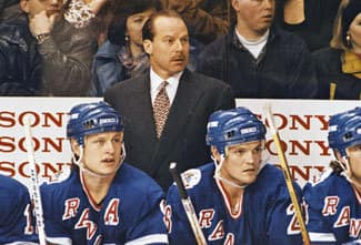 Iron Mike Keenan ruled with a mean streak. (ap)
