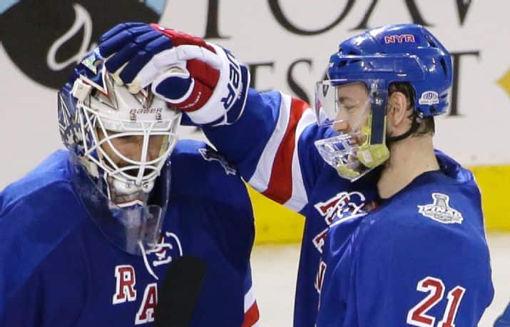The Rangers ride The King to stave off elimination (Getty Images)