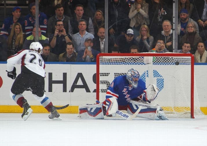 Rangers look for a better result this time against Colorado (Getty)