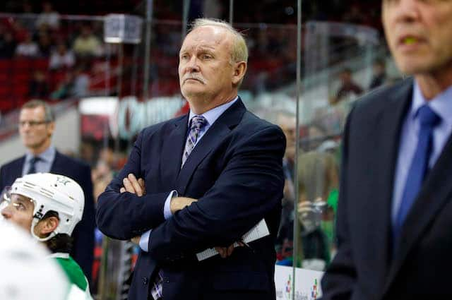 Rangers and Lindy Ruff likely to part ways