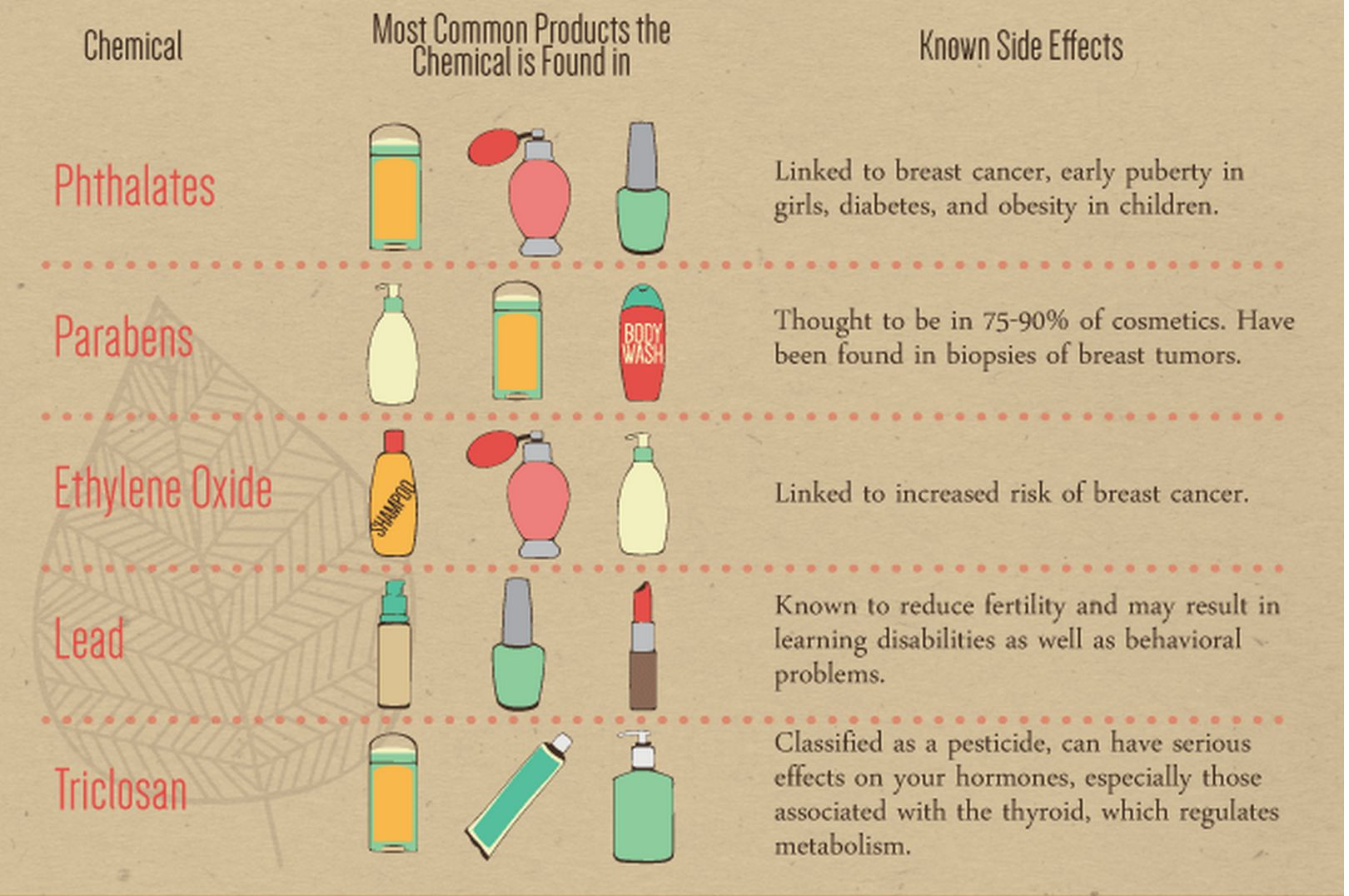 5 Of the Most Toxic Chemicals Found in Beauty Products ...