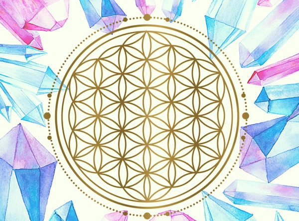 crystal grid in your home