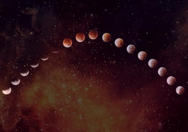 blood blue moon eclipse ritual